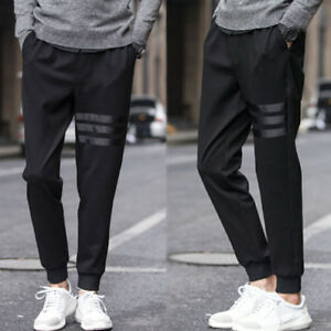 Image is loading Korean,Style,Men,Fashion,Slim,Casual,Fit,Skinny,