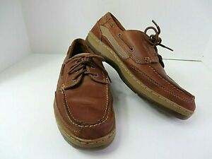 Nunn Bush Mens Leather Casual Three Eyelet Laced Shoes
