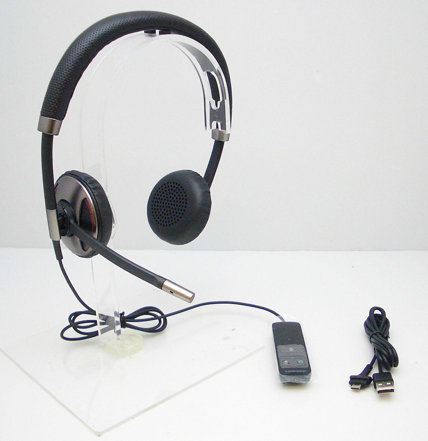 plantronics blackwire c720 bluetooth usb over the head binaural stereo headset. Black Bedroom Furniture Sets. Home Design Ideas