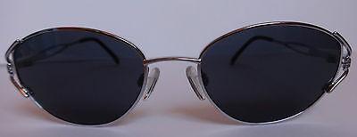 Damen & Herren Sonnenbrille NiGuRa Sundream Silber Grau Sunglasses Grey Brille