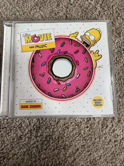 The Simpsons Movie The Music Cd Original Soundtrack 2007 For Sale Online Ebay