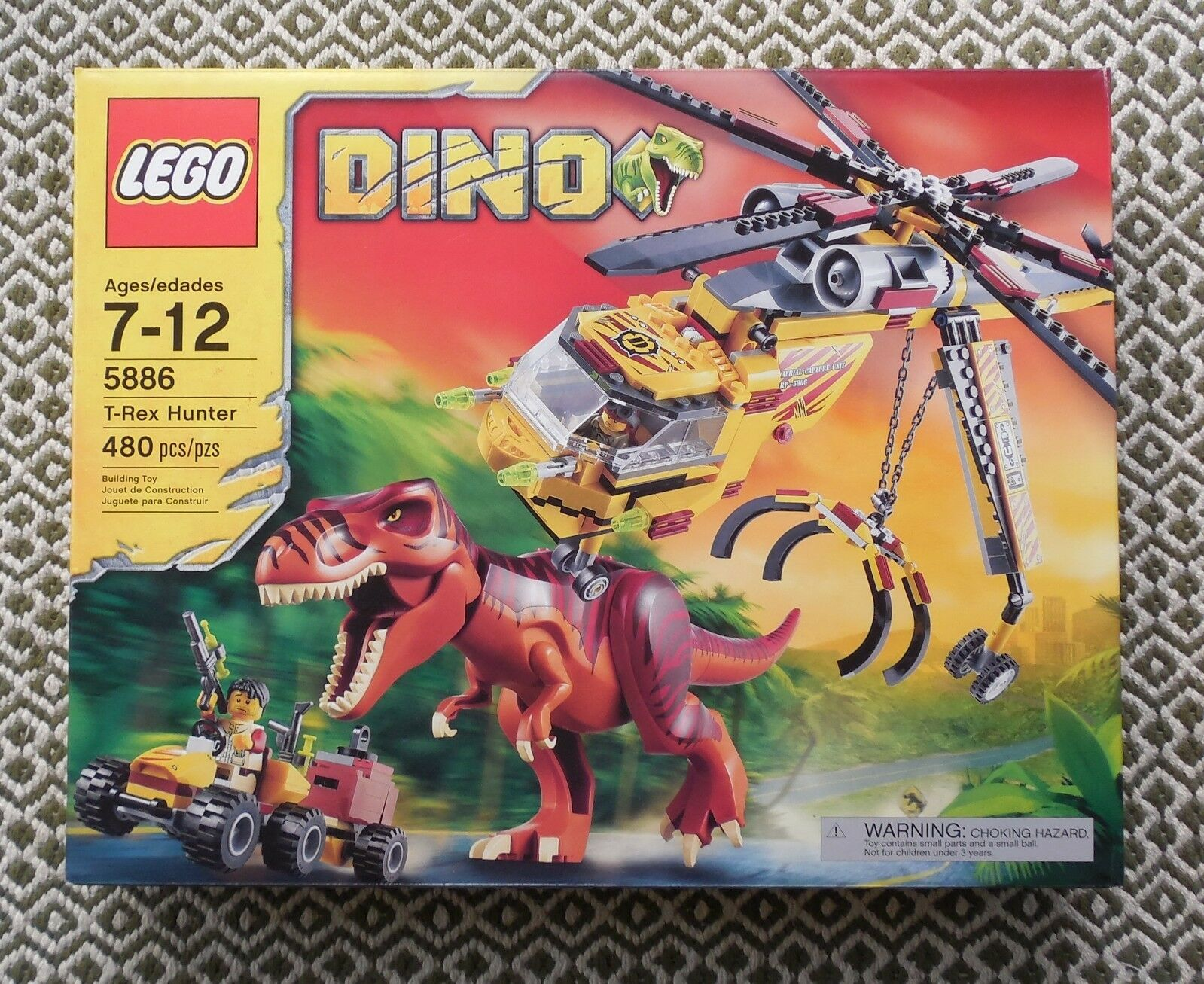 nouveau  LEGO Set 5886 Dino T-Rex Hunter FACTORY SEALED Retried  en solde 70% de réduction