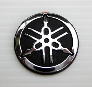 original yamaha 2 5cm 3d pvc emblem aufkleber emblema. Black Bedroom Furniture Sets. Home Design Ideas