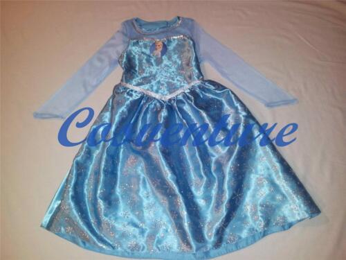 NSW Deluxe Queen Elsa Costume Tiara /& Cape Dress Disney Frozen Princess