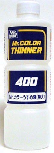 Mr Color Thinner 400ml T104 Gunze GSI Creos Model Kit Paint Tool Supply hobby