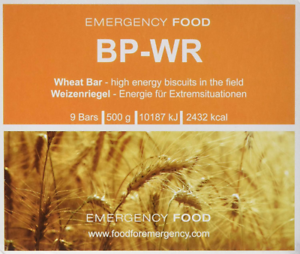 Compact-BP WR Emergency Food 500 Grams long-term food for Outdoor Camping UN