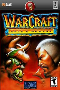Warcraft Orcs And Humans Pc Retro Game Poster Multiple Sizes 11x17