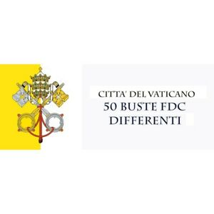 Lotto-Di-50-FDC-Vatican-Different-Period-1979-1985-Various-Brands-MF72398