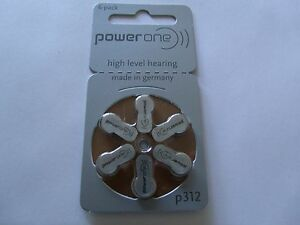 hearing-aid-batteries-6-PACK-Power-one-Size-312-made-in-Germany