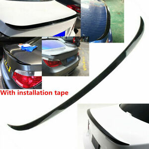 Fit For BMW E60 Sedan 04-10 525i 528i 530i 535i 550i Rear Spoiler Shiny Black