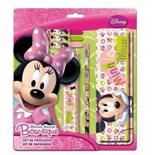 Schreibset Schulset Schulmappe Lineal Stifte 6 tlg. * Disney Minnie Mouse