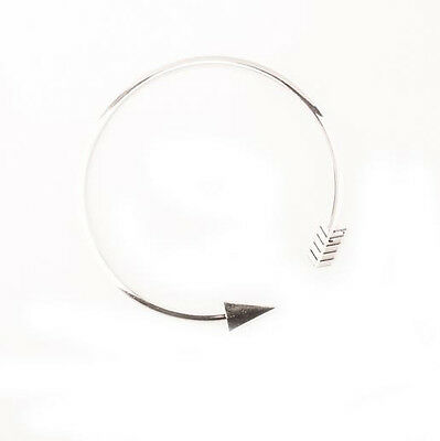 Women Fashion Jewelry Gold/Sliver Plated Open Chain Arrow Choker Necklace