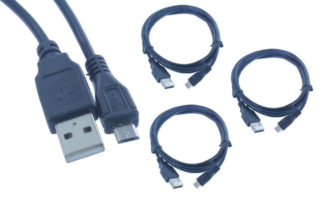 3x 6FT Samsung LG USB2.0 Micro USB Charger Charging Data Sync Charge Cable Cord