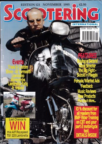 Various Issues of SCOOTERING Magazine from June 1988 to December 1999