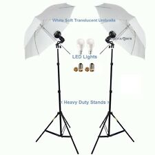 Photography Studio Light kit with Umbrella, LED Light & Heavy Duty Stands