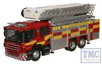 76sal005 Oxford Diecast Oo Gauge Northamptshire Fire Rescue Scania Arp