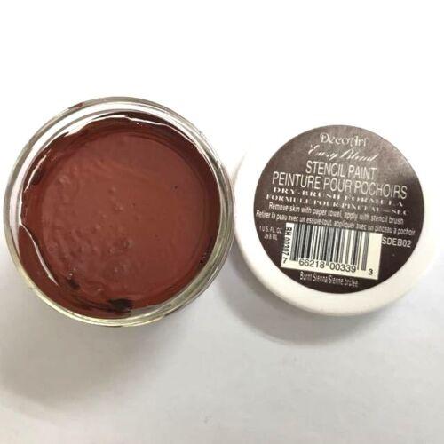 DecoArt Easy Blend Stencil Paint Acrylic Dry-Brush