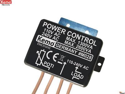 KEMO M171 Leistungsregler DC 5 A Power Control