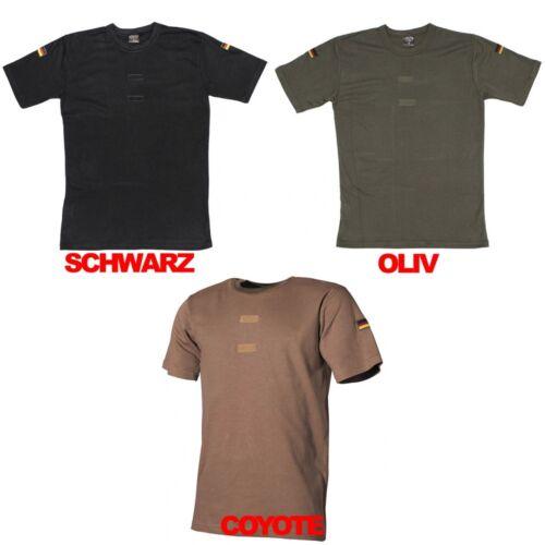 Esercito tedesco BW camicia tropicale Sotto Camicia Biancheria Intima T-shirt Bandiera Tedesca Bandiera
