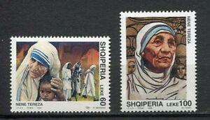 36953) Albania 1998 MNH Mother Theresa 2v