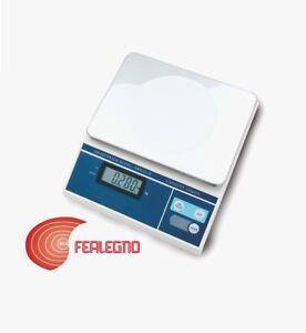 Dettagli Su Bilancia Da Cucina Pesa Alimenti Elettronica Professionale 15kg Art 705 Stube