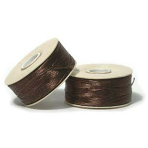 Nymo Nylon Sead Bead Beading Jewelry Thread 0 00 B D O OO Bobbin 25 Colors