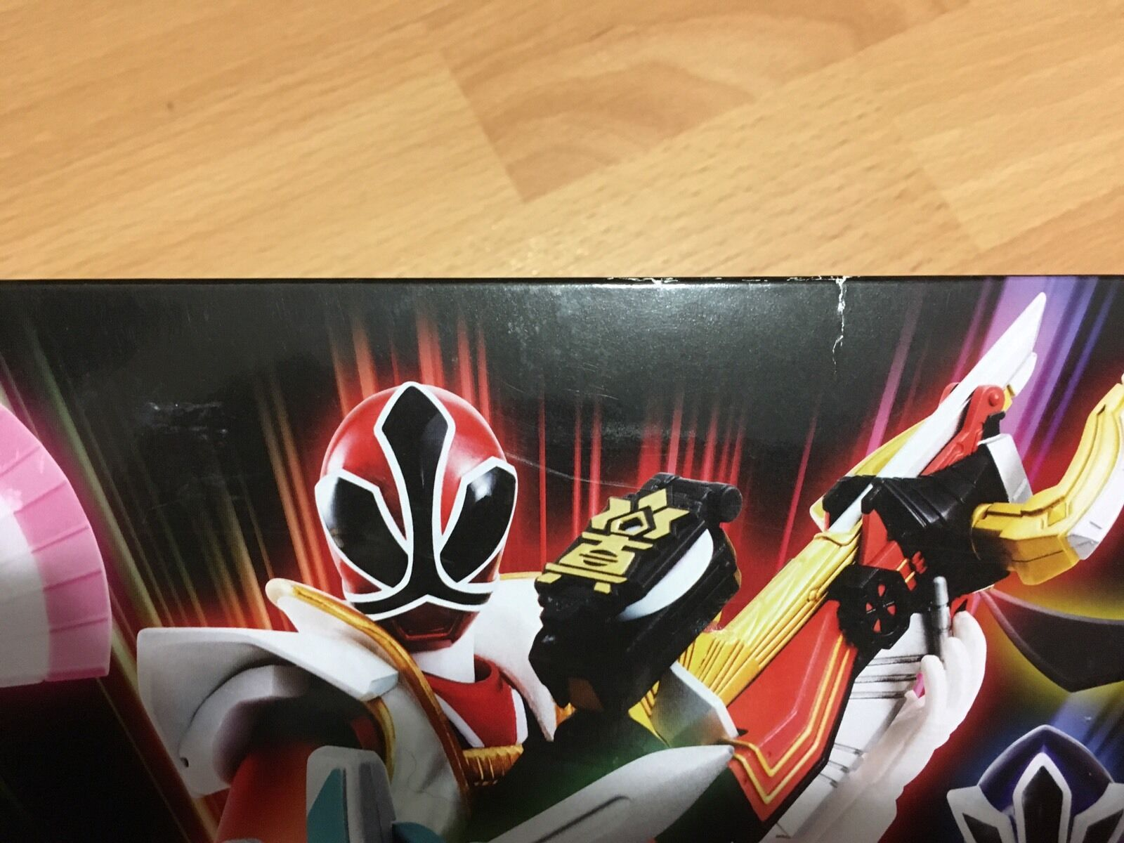 Bandai Tamashii S.H. S.H. S.H. Figuarts Power Rangers Super Samurai Metallic Set SDCC 2013 2858c9