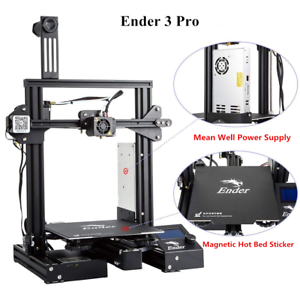 Creality-Ender-3-Pro-3D-Printer-Magnetic-Hot-Bed-Sticker-MeanWell-Power-Supply