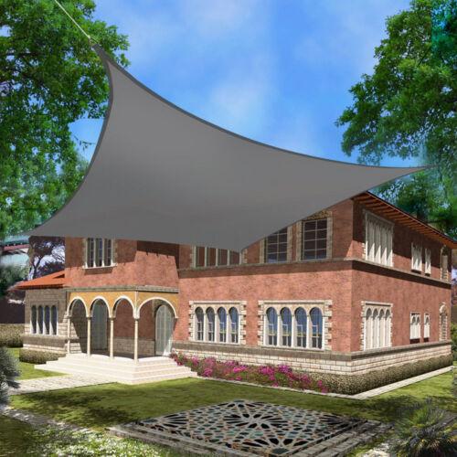 Sun SAIL SHADE Canopy Garden Sun Awing Couverture UV écran Patio Crème Solaire 2M*3M