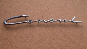 """Schriftzug, Emblem, Ford Consul II 1956 - 1962 Schriftzug """" Consul """""""