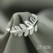 Wholesale 925 Sterling Silver Plated Women Fashion Wide Face Rings SIZE Open 047
