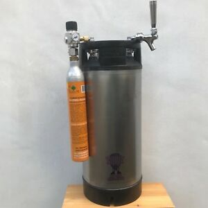 AEB Corny Cornelius beer Keg 19L ball lock reconditioned