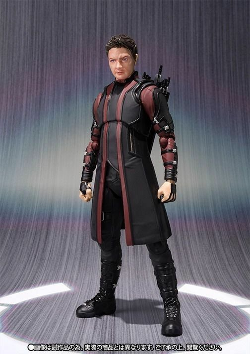 S.H.Figuarts Avengers Age of Ultron HAWKEYE Action Figure BANDAI NEW from Japan