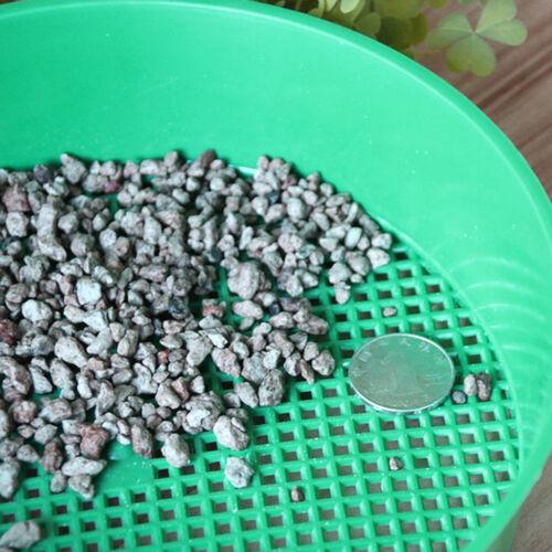Plastique Jardin Tamis Riddle vert pour composy pierre sol Mesh Jardinage Outil