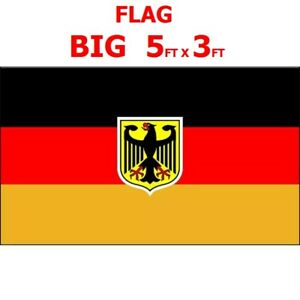 Details about FLAG ANZAC GERMAN EAGLE 5FT X 3FT GERMANY SS BERLIN MAN CAVE  GARAGE BEDROOM DIY
