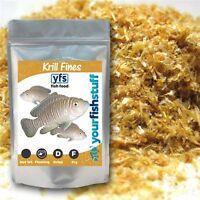 Krill Fines Freeze Dried Bulk Aquarium Fish Food 1/4 Lb