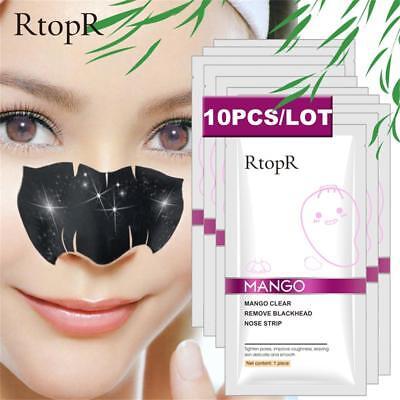 20/10/5Pcs Blackhead Black Head Remover Pore Cleansing Strip Mask Face Nose  Acne | eBay