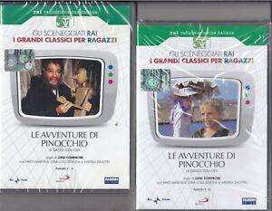 2-Dvd-Sceneggiati-Rai-LE-AVVENTURE-DI-PINOCCHIO-Collodi-Comencini-Manfredi-nuovo