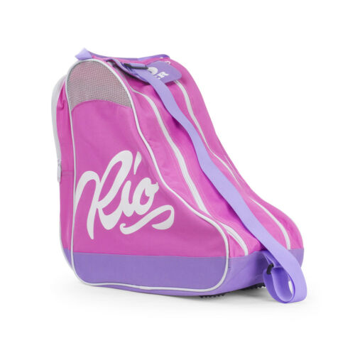 Rio Roller - Script Skate Tasche - Pink/Lila - Rollschuhe Tragetasche