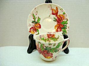 Royal-Doulton-white-bone-china-demitasse-cup-amp-saucer-Sherborne-pattern