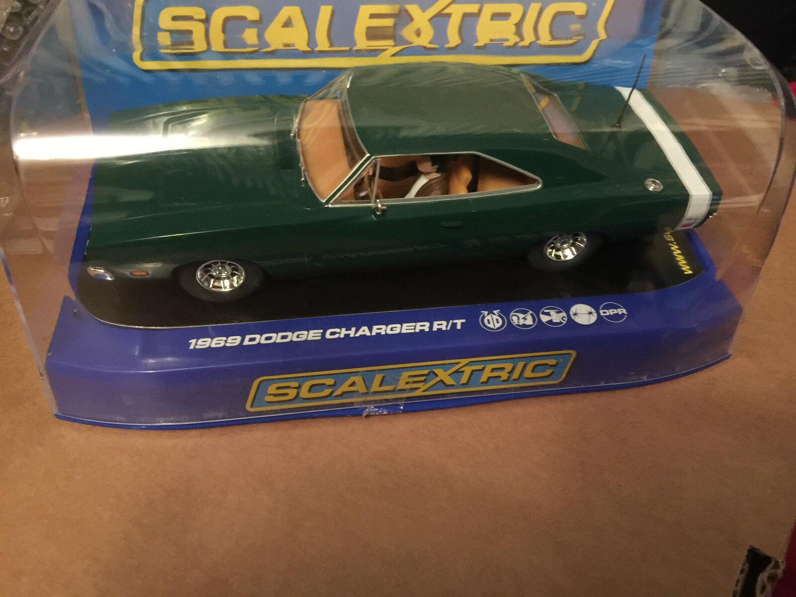 precios mas bajos Mb Scalextric USA 1969 Dodge Cargador Cargador Cargador Bundle x4 Verde, Azul, Negro Y Rojo  80% de descuento