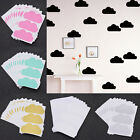 30 Pcs 8cm Cloud Wall Sticker For Kids Room Decor Removable Waterproof Creative