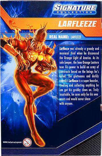 DC UNIVERSE Signature Collection_LARFLEEZE 6   Exclusive Exclusive Exclusive action figure_New & MIB 078268