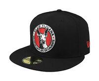 Era 59fifty Cap Xolos De Tijuana Mexican Soccer Club Fitted Hat - Black