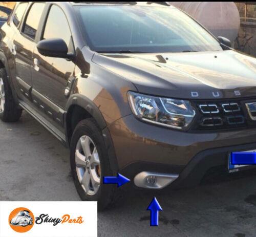 Dacia Duster 2018Up Nebelscheinwerfer Felge Abdeckung 2Pcs ABS Kunststoff