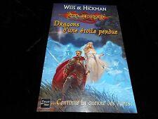 Margaret Weis & Tracy Hickman : Lance Dragon : Dragons d'une étoile perdue GF