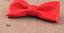 Cuir-Noeud-Papillon-Homme-Femme-Qualite-Marron-Noir-Blanc-Rouge-Bleu-Argent-Dore miniature 6