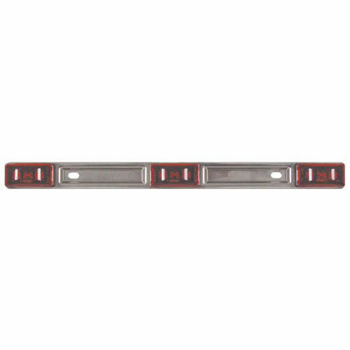 Optronics MC97RBP Boat//Utility Trailer Submersible Red Identification Light Bar