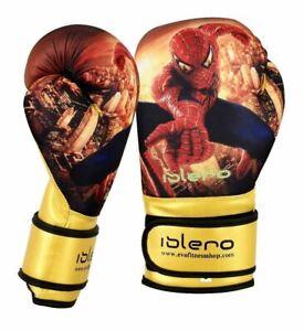 ISLERO-Bambini-Guantoni-Da-Boxe-Junior-MMA-Punch-Bag-Guanti-Muay-Thai-Training-CHAMP