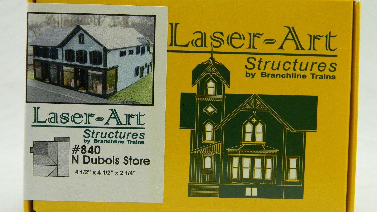 NIB N Branchline Laser-Art Dubois Store Kit